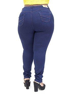 Calça Jeans Thomix Plus Size Skinny Mirian Azul
