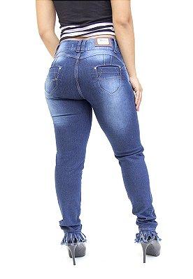 Calça Jeans Cheris Skinny Rita Azul