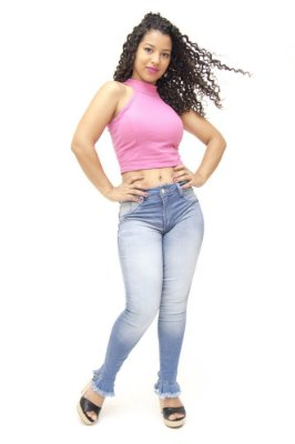 Calça Jeans Feminina Clara Biotipo Doralice
