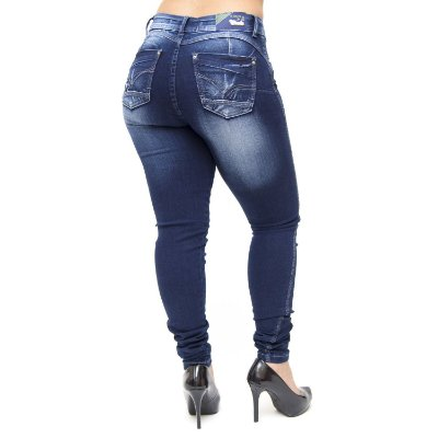 Calça Jeans Feminina Escura Cheris Lailane