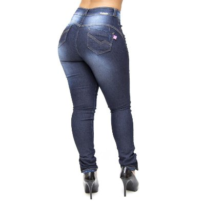 Calça Jeans Feminina Hot Pants Meitrix Caren
