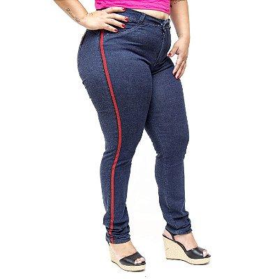 Calça Jeans Meitrix Plus Size Super Skinny Kalina Azul