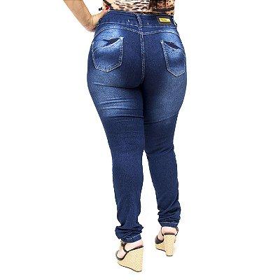 Calça Jeans Thomix Plus Size Skinny Maya Azul