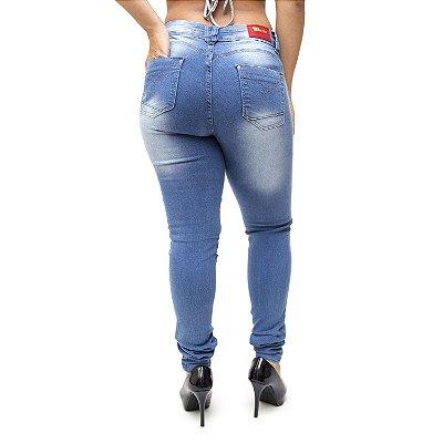 Calça Jeans Cheris Skinny Myrna Azul
