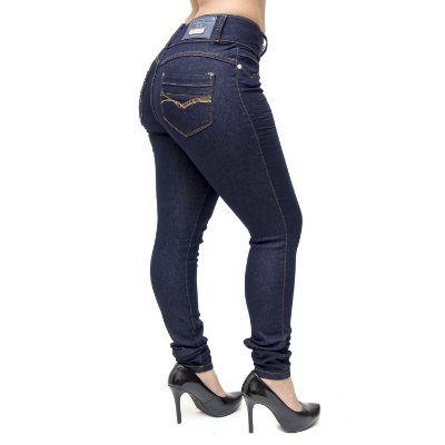 Calça Jeans Credencial Skinny Jesana Azul