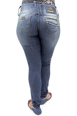 Calça Jeans Feminina R.I.19 Modelo Legging Premium