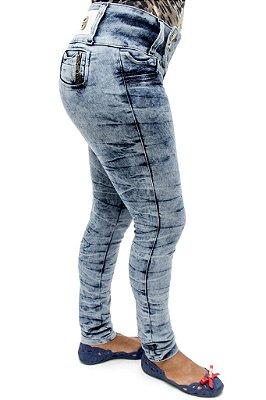 Calça Jeans Feminina Skinny Credencial Levanta Bumbum