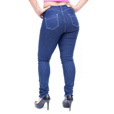 Calça Jeans Feminina Helix Skinny Matruza Azul