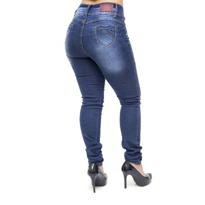 Calça Jeans Feminina Credencial Skinny Nikita Azul