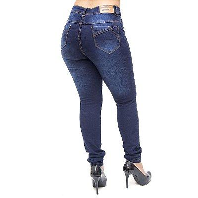 Calça Jeans Feminina Credencial Skinny Bheatriz Azul