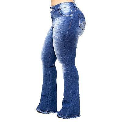 439a0153d Calça Jeans Plus Size Levanta Bumbum Feminina | Andando no Estilo ...
