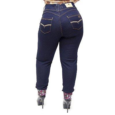 Calça Jeans Wesen Plus Size Skinny Amarilandia Azul