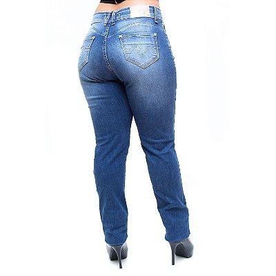 Calça Jeans Feminina Bokker Skinny Mairla Azul