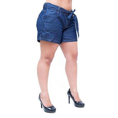 Shorts Jeans Feminino Cambos Clochard Soelma Azul