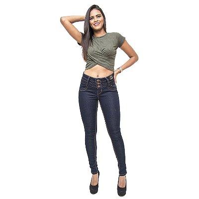 Calça Jeans Feminina Credencial Skinny Neise Azul