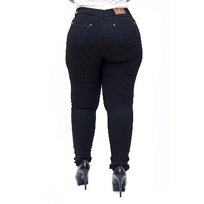 Calça Jeans Feminina Helix Plus Size Skinny Ivanna Preta