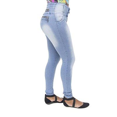 Calça Jeans Feminina Helix Clara Levanta Bumbum com Elástico