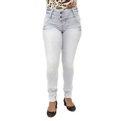 Calça Jeans Feminina Legging Meitrix Clara Com Elástico Levanta Bumbum