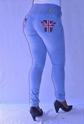 Calça Jeans Legging Meitrix Levanta Bumbum Bolso Inglaterra