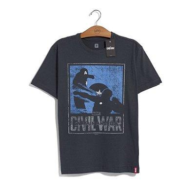Camiseta Marvel Guerra Civil Versus