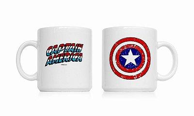 Caneca Marvel Capitão América