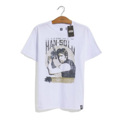 Camiseta Star Wars Tour Han Solo