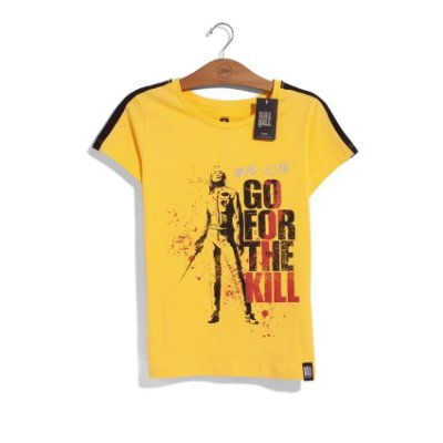 Camiseta Feminina Kill Bill Go For The Kill