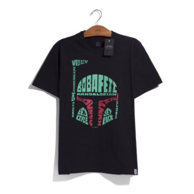 Camiseta Star Wars Boba Fett Words