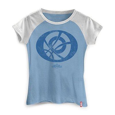 Camiseta Feminina Marvel Doutor Estanho Olho de Agamotto