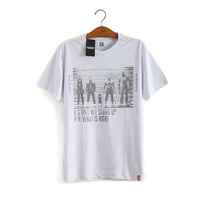Camiseta Prisioneiros Guardiões da Galáxia