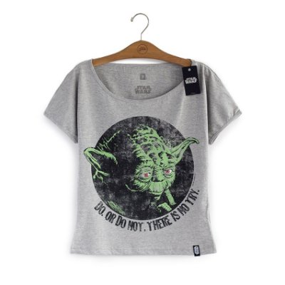 Camiseta Star Wars Yoda Do or Do Not Feminina