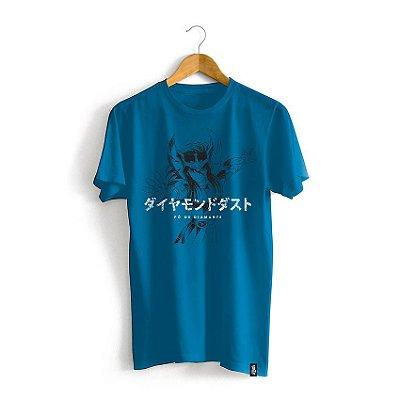 Camiseta Cavaleiros do Zodíaco Golpe Hyoga