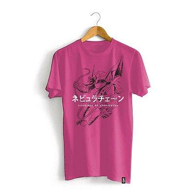 Camiseta Cavaleiros do Zodíaco Golpe Shun