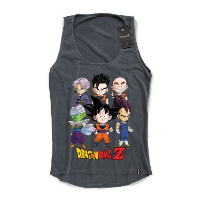 Camiseta Feminina Dragon Ball Z SD