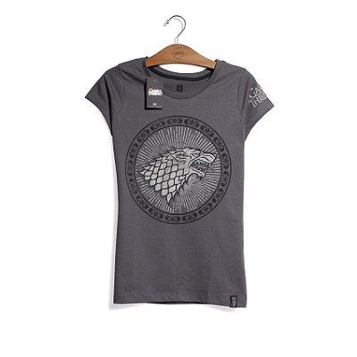 Camiseta Game of Thrones Casa Stark Feminina