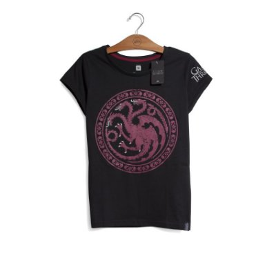 Camiseta Game of Thrones Casa Targaryen Feminina