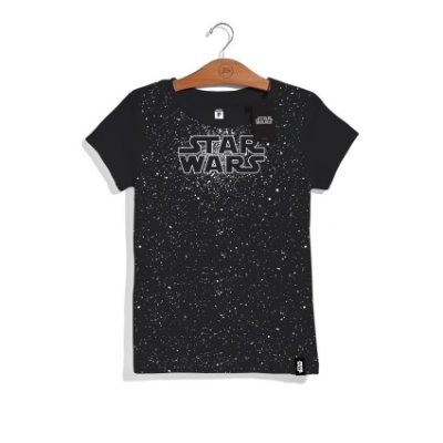 Camiseta Glow Star Wars  Feminina