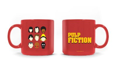 Caneca Pulp Fiction Logo