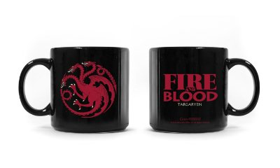 Caneca Game of Thrones Targaryen