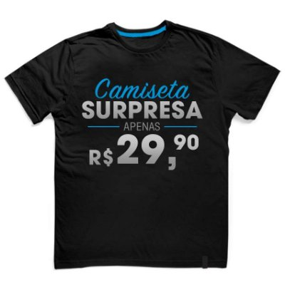 Camiseta Surpresa Unissex