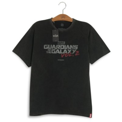 Camiseta Marvel Logo Guardiões da Galáxia Volume 2