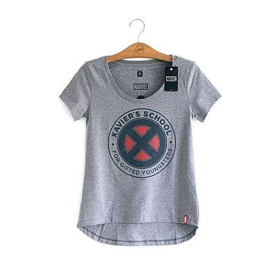 Camiseta Feminina Xavier's School Marvel