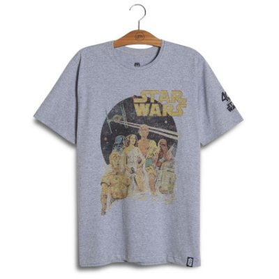 Camiseta Star Wars Old Poster 40th