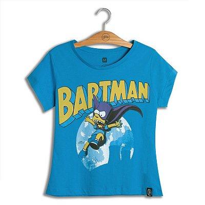 Camiseta Feminina Simpsons Bartman