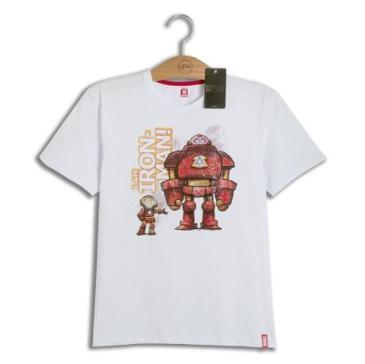 Camiseta Infantil Marvel Iron Man Young