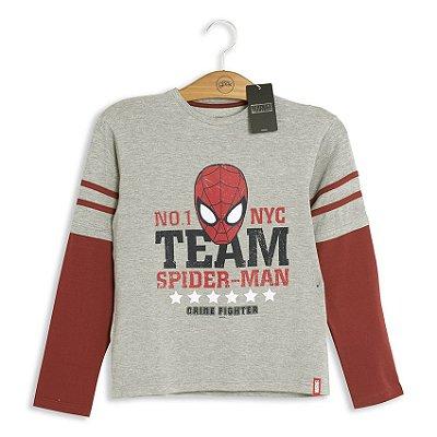 Moletom Infantil Marvel Team Spider-Man