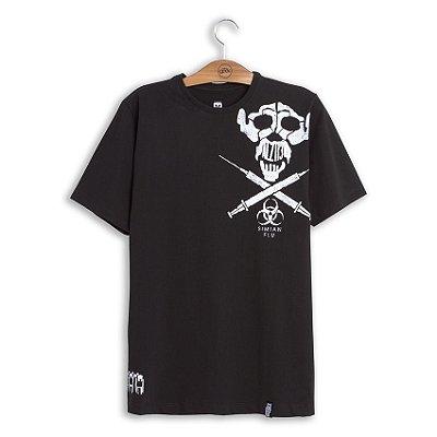 Camiseta Planeta dos Macacos Simian Flu