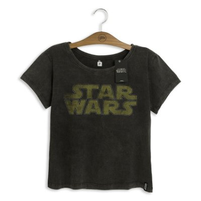 Camiseta Feminina Star Wars Logo
