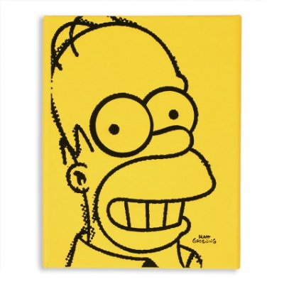 Caderno de Notas Simpsons Homer Face