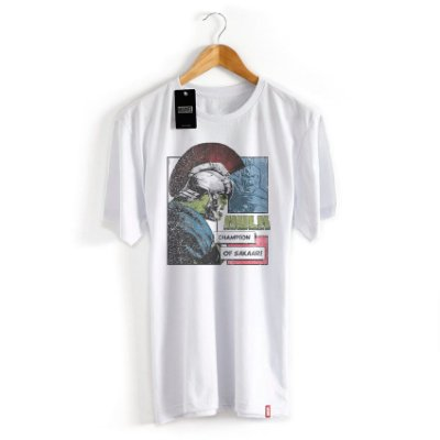 Camiseta Marvel Thor Ragnarok Hulk Gladiador